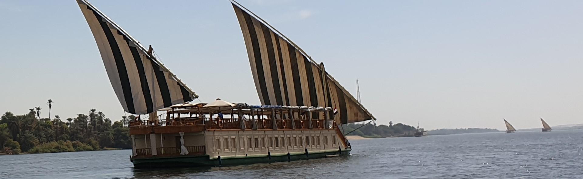 Segel Nilkreuzfahrt Dahabeya