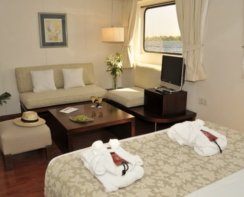 Yacht Alexander The Great - luxury Suite