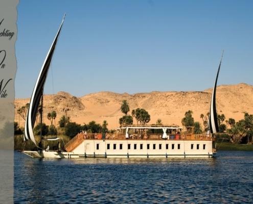 Segel Nilkreuzfahrt Dahabeya Queen Farida