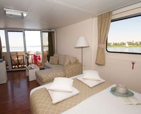 Yacht Alexander The Great Panorama Suite exklusiv