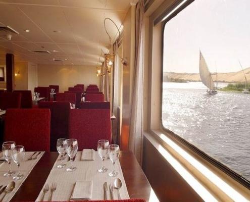 Yacht Alexander the Great Red Fiesta Restaurant Dinner
