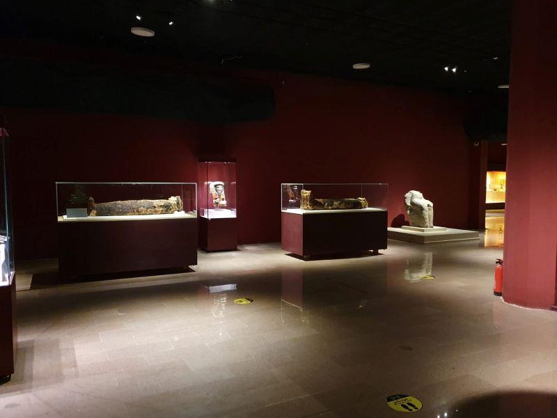 Hurghada Museum Sarkophag