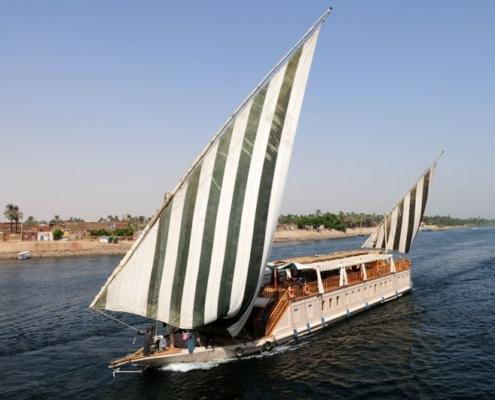 Nilkreuzfahrt Dahabeya und Mövenpick Resort Assuan