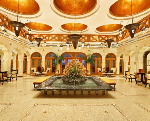 The Oberoi Beach Resort Lobby